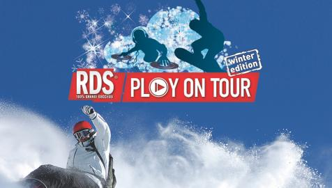 Rds Play on Tour sulla Paganella